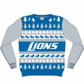 Detroit Lions NFL Ugly Sweater Wordmark