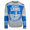 Detroit Lions Retro Cotton Sweater By Klew
