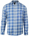 Detroit Lions Wordmark Mens Long Sleeve Flannel Shirt