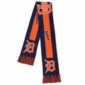 Detroit Tigers 2016 MLB Big Logo Scarf By Forever Collectibles