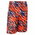 Detroit Tigers MLB 2016 Repeat Print Polyester Shorts By Forever Collectibles