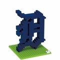 Detroit Tigers MLB 3D Logo BRXLZ Puzzles By Forever Collectibles