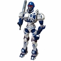 "Detroit Tigers MLB Poseable 10"" Team Robot"