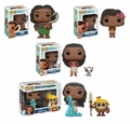 Disney's Moana Complete Set (4) Funko Pop!