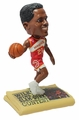 "Dominique Wilkins (Atlanta Hawks) Slam Dunk Champion NBA Legends Newspaper Base 5"" Bobble Head Exclusive"