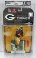 Donald Driver (Green Bay Packers) NFL Series 19 McFarlane AFA Graded 9.0
