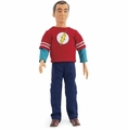 "Dr. Sheldon Cooper The Big Bang Theory 17"" Bendable and Poseable Doll by Wonderland Toys"
