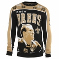 Drew Brees #9 (New Orleans Saints) NFL Player Ugly Sweater