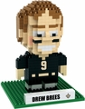 Drew Brees (New Orleans Saints) NFL 3D Player BRXLZ Puzzle By Forever Collectibles