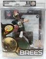 Drew Brees (New Orleans Saints) NFL Series 31 CHASE McFarlane AFA GRADED U9.0