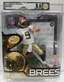 Drew Brees (New Orleans Saints) NFL Series 31 McFarlane AFA GRADED U9.0
