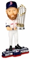 Dustin Pedroia (Boston Red Sox) 2013 World Series Champ Trophy Bobble Head Forever