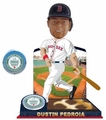 Dustin Pedroia (Boston Red Sox) 2015 MLB Stadium Dirt Bobble Heads Forever Collectibles