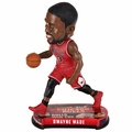Dwayne Wade (Chicago Bulls) 2017 NBA Headline Bobble Head by Forever Collectibles