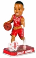 Dwight Howard (Houston Rockets) Forever Collectibles 2014 NBA Springy Logo Base Bobblehead