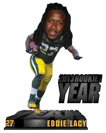 (Green Bay Packers) 2013 NFL Rookie of the Year Bobble Head Forever