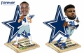 Elliott/Prescott (Dallas Cowboys) How 'Bout Them Cowboys Newspaper Base Bobble Head Combo