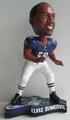Elvis Dumervil (Baltimore Ravens) 2013 Pennant Base NFL Bobble Head Forever