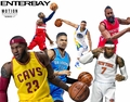 Enterbay 1:9 Motion Masterpiece NBA Series 1 Complete Set (6)