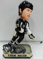 Evgeni Malkin (Pittsburgh Penguins) Forever Collectibles 2014 NHL Springy Logo Base Bobblehead