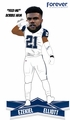 "Ezekiel Elliott (Dallas Cowboys) ""Feed Me"" Color Rush 10"" Bobblehead with Bobble Arm by Forever Collectibles"