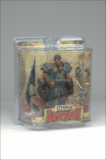 TYR (DRAGON RIDER) MCFARLANE'S FANTASY: LEGEND OF THE BLADEHUNTERS