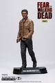 """Travis Manawa (Fear the Walking Dead) 7"""" Figure McFarlane Collector Edition Color Tops Series - Red"""