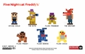 Five Nights at Freddy's 8-Bit Buildable Figure Series 2