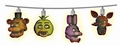 Five Nights at Freddy's Cast Heads String Lights By  NECA