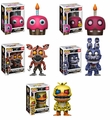 Five Nights at Freddy's Nightmare Complete Set w/CHASE (5) Funko Pop!