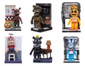 Five Nights At Freddy's Micro Office Set Complete Set (6)