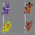 Five Nights At Freddy's Scaler Complete Set (4) By NECA