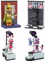 Five Nights At Freddy's Series 2 Micro Set Complete Set (4)