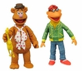 Fozzie Bear & Scooter The Muppets Series 1 Action Figure 2-Pack Diamond Select Toys