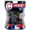 "Francisco Lindor (Cleveland Indians) 2016 MLB 6"" Figure Imports Dragon"