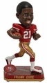 Frank Gore (San Francisco 49ers) Forever Collectibles 2014 NFL Springy Logo Base Bobblehead