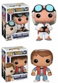 Funko Pop Back To The Future Complete Set (2)