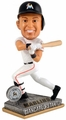 Giancarlo Stanton (Miami Marlins) 2015 Springy Logo Action Bobble Head Forever Collectibles