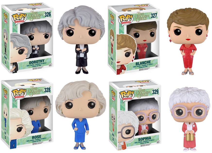 The Golden Girls Funko Pop Complete Set 4