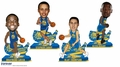 Golden State Warriors Dub Nation 2016 NBA Bobble Head Set of 4 (Durant/Curry/Thompson/Green) by Forever Collectibles