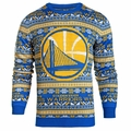 Golden State Warriors NBA 2016 Aztec Ugly Crew Neck Sweaters by Forever Collectibles