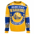 Golden State Warriors Retro Cotton Sweater by Klew