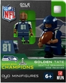 Golden Tate (Seattle Seahawks) Super Bowl Champs NFL OYO Sportstoys Minifigures