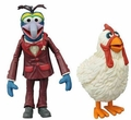 Gonzo & Camilla The Muppets Series 1 Action Figure 2-Pack Diamond Select Toys