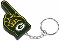 Green Bay Packers #1 Foam Finger Keychain