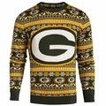 Green Bay Packers 2016 Aztec NFL Ugly Crew Neck Sweater by Forever Collectibles