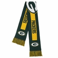 Green Bay Packers 2016 NFL Big Logo Scarf By Forever Collectibles