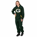 Green Bay Packers Adult One-Piece NFL Klew Suit