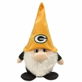 "Green Bay Packers NFL 11"" Plush Gnomie By Forever Collectibles"