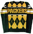 Green Bay Packers NFL Argyle Sweater CLARKtoys Exclusive